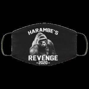 Harambes Revenge 2020 Reusable Face Mask