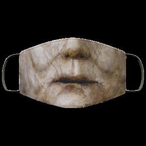 Horror Halloween Movie Retro Mask Michael Boogeyman Mouth Mask The Shape Face Mask