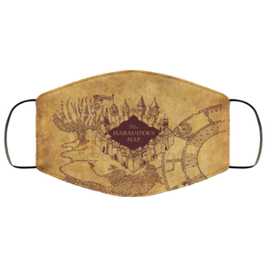 Marauders Map Face Mask Harry Potter Face Mask