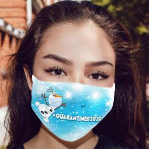 Olaf Quarantined 2020 Face Mask