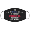 The Vote Is The Most Powerful Nonviolent Tool We Have John Lewis Face Mask