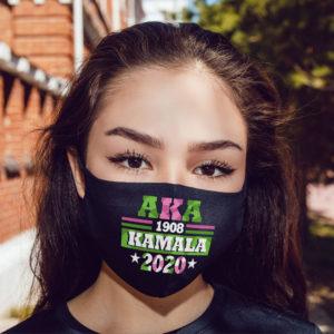 AKA 1908 Kamala Harris 2020 Election Women Rights Face Mask