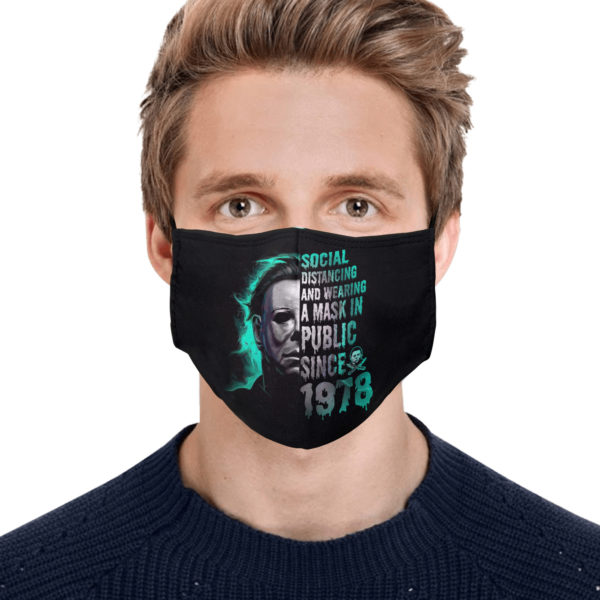 Social Distancing and Wearing a Mask in Public Since 1978 Face Mask