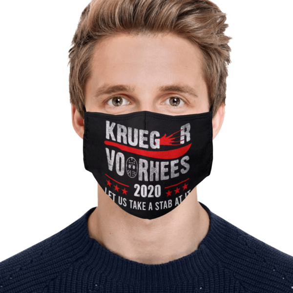 Krueger Vorhees Let Us Take a Stab at It Face Mask