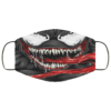 Venom Mouth Superheroes Comics Characters Face Mask