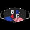 8645 2020 American Flag Anti Donald Trump Face Mask