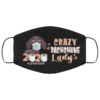 Crazy Dachshune Lady Quarantined 2020 Face Mask