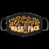 Resting Mask Face Sarcastic Novelty Mask Face Mask