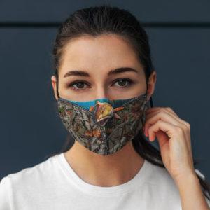 Fishing Zip 3D Face Mask
