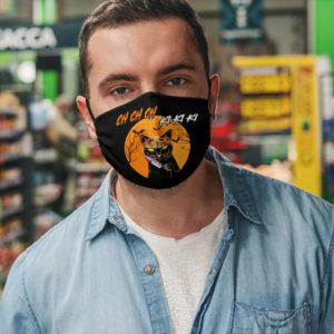Jason Ki Ki Ki Meow Kitty Halloween Black Cat Face Mask
