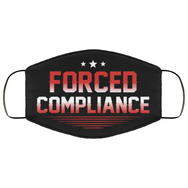 Force Compliance Funny Face Mask