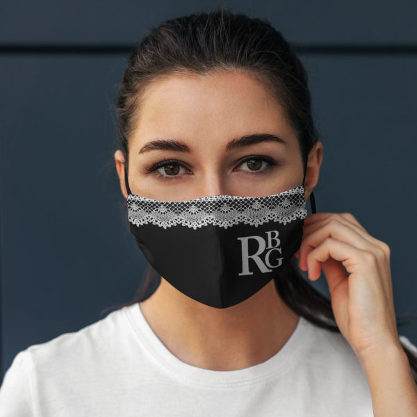 RBG Collar Face Mask RBG Printed Face Mask