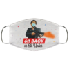 6ft Back Or 6Ft Under Washable Reusable Custom Scarface Printed Face Mask