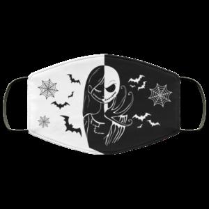 Nightmare Before Christmas Jack Skellington Sally Face Mask