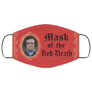 Mask Of The Red Death Face Mask