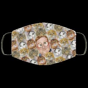Trailer Park Supervisor Boys Bubbles I Roll with My Kitties Face Mask