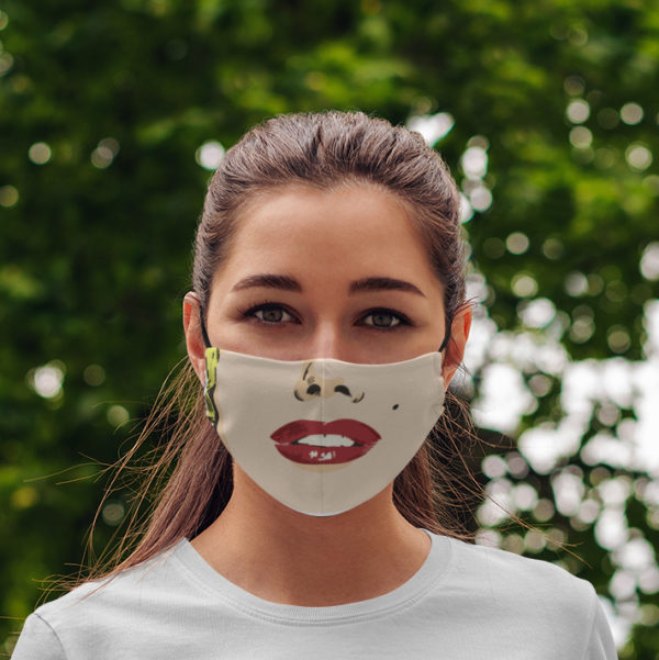 Marilyn Monroe Face Mask Sexy Face Mask Pop Art Face