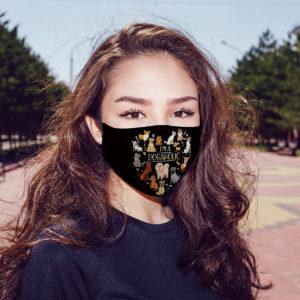 Im a Dogholic Dog Lover Face Mask