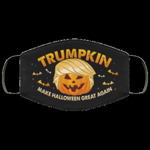 Trumpkin Make Halloween Great Again Face Mask