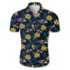 Baltimore ravens tropical flower Hawaiian Beach Shirt
