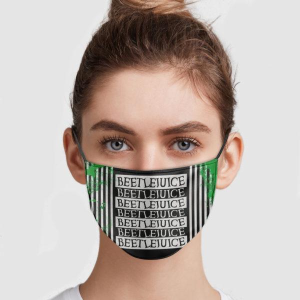 BeetLeJuice Cloth Face Mask Reusable