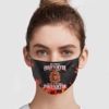 Being A Retired Firefighter Is An Honor Cloth Face Mask Reusable