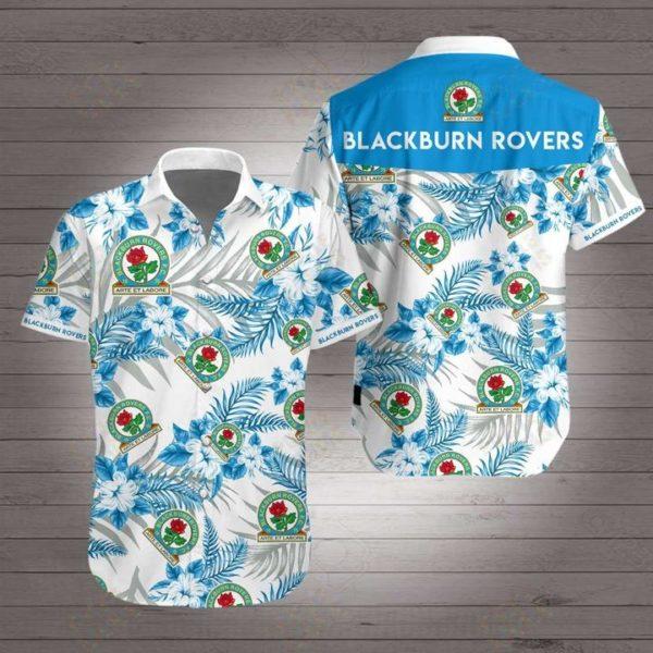 Blackburn rovers football club Hawaiian Beach Shirt