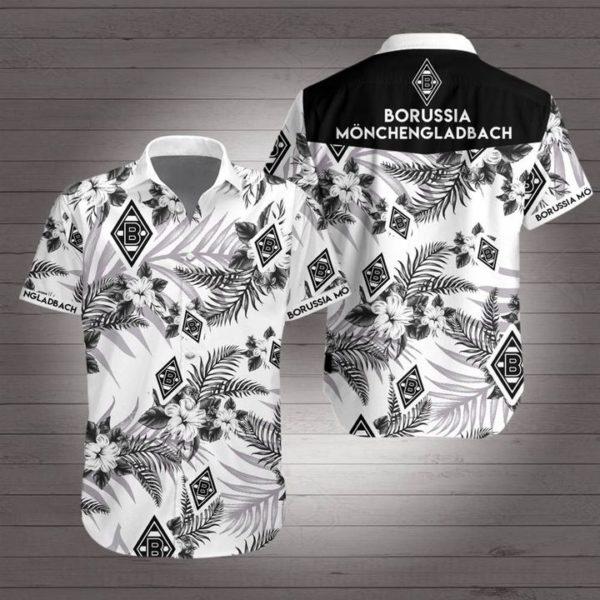 Borussia dortmund football club Hawaiian Beach Shirt