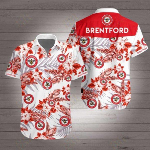 Brentford football club Hawaiian Beach Shirt