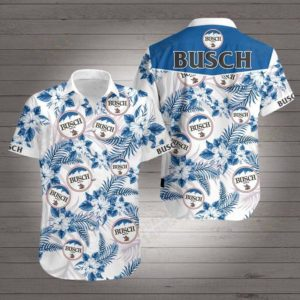 Busch Hawaiian Beach Shirt