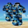 Carolina panthers Summer Short Sleeve Hawaiian Beach Shirt