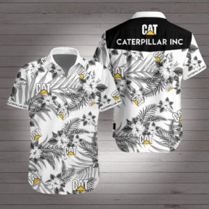 Caterpillar inc Hawaiian Beach Shirt
