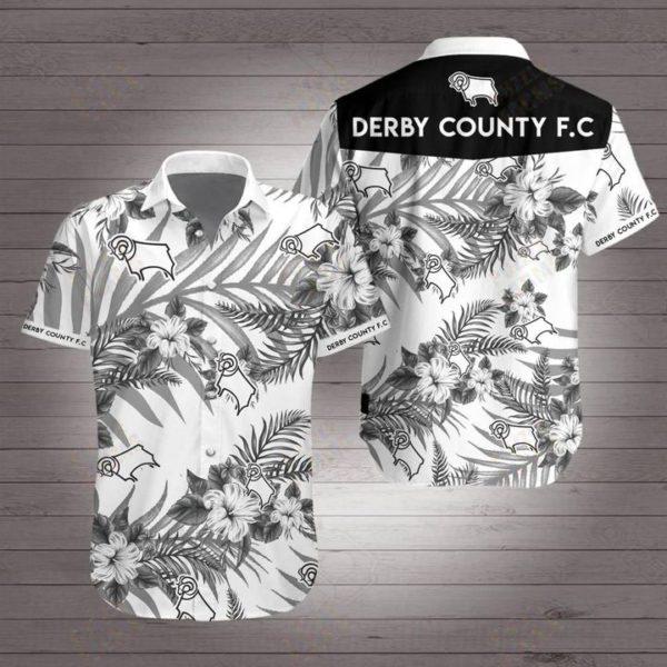 Derby county football club Hawaiian Beach Shirt