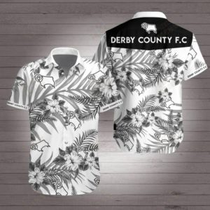 Derby county football club Hawaiian Beach Shirt