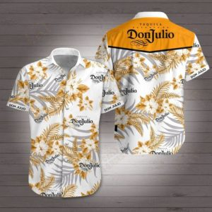 Don julio tequila Hawaiian Beach Shirt