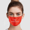 DoorDash Cloth Face Mask Reusable
