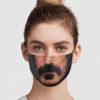 Frank Zappa Cloth Face Mask Reusable
