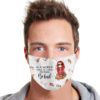 Hippie In A World Where You Can Be Anything Be Kind Cloth Face Mask Reusable