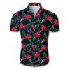 Houston texans tropical flower Hawaiian Beach Shirt