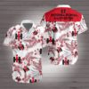 International harvester Hawaiian Beach Shirt