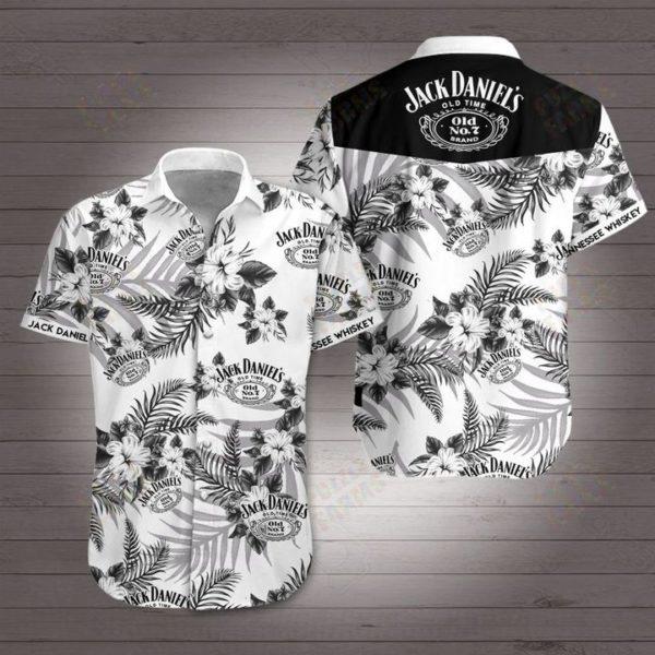 Jack daniels tennessee whiskey Hawaiian Beach Shirt