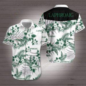 Laphroaig Hawaiian Beach Shirt