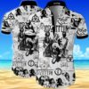 Led zeppelin Summer Short Sleeve Hawaiian Beach Shirt