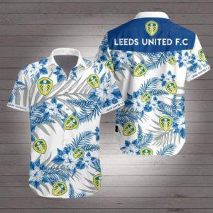 Leeds united football club Hawaiian Beach Shirt