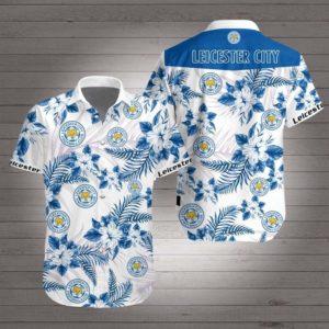 Leicester city Hawaiian Beach Shirt