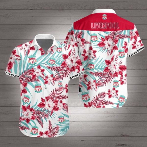 Liverpool football club Hawaiian Beach Shirt