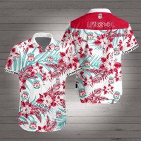 Liverpool football club Hawaiian Beach Shirt