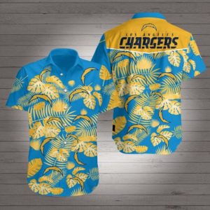 Los angeles chargers Hawaiian Beach Shirt