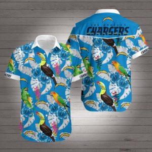 Los angeles chargers team Hawaiian Beach Shirt