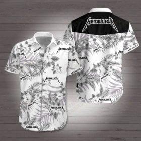 Metallica hawaiian shirt 4